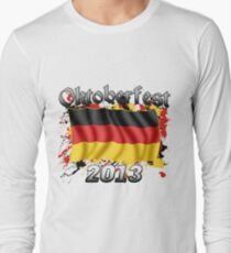 Oktoberfest German Flag 2013 Long Sleeve T-Shirt