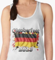 Oktoberfest German Flag 2013 Women's Tank Top