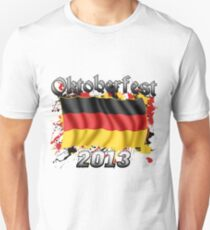 Oktoberfest German Flag 2013 Unisex T-Shirt