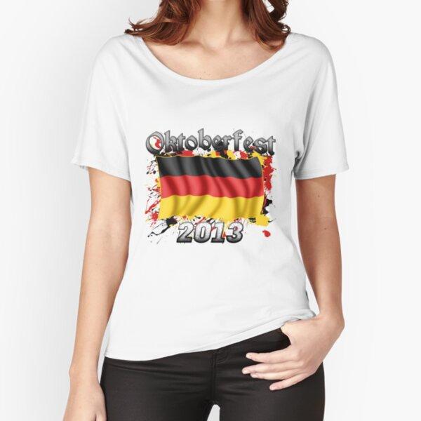 Oktoberfest German Flag 2013 Relaxed Fit T-Shirt