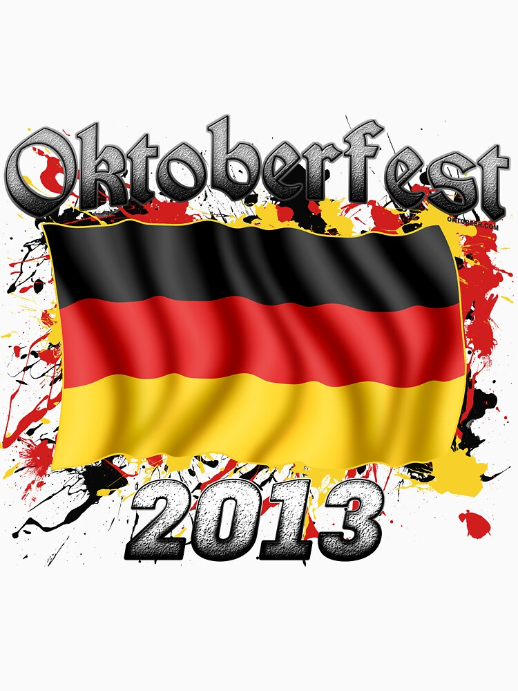 Oktoberfest German Flag 2013 by Oktobeer