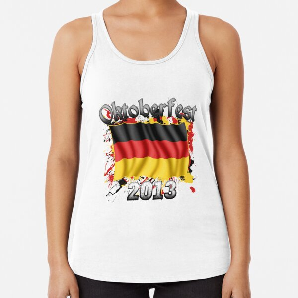 Oktoberfest German Flag 2013 Racerback Tank Top