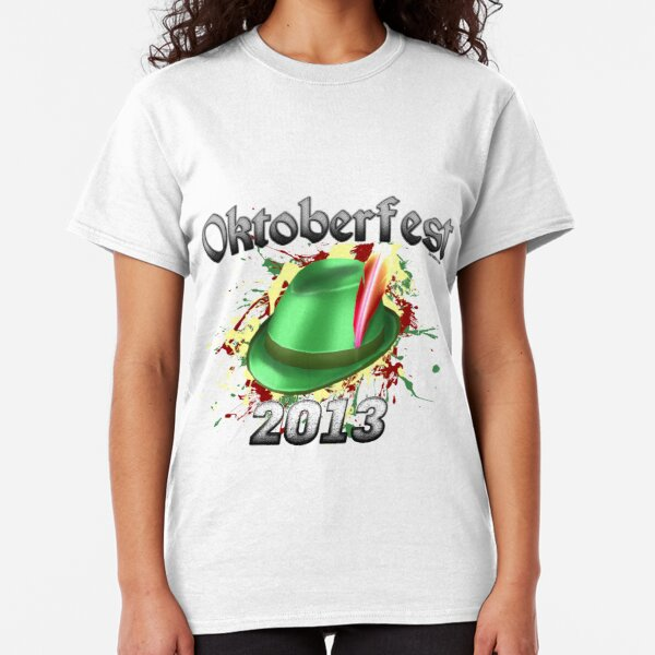 Oktoberfest German Hat 2013 Classic T-Shirt