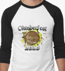 Oktoberfest Keg 2013 Men's Baseball ¾ T-Shirt