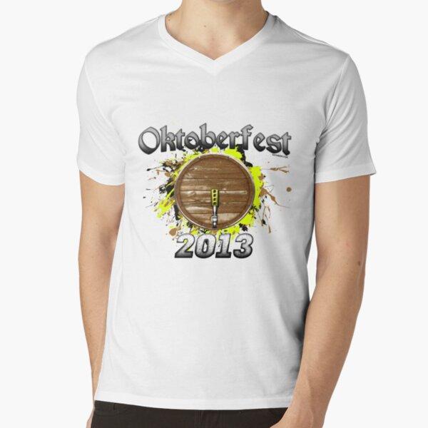 Oktoberfest Keg 2013 V-Neck T-Shirt
