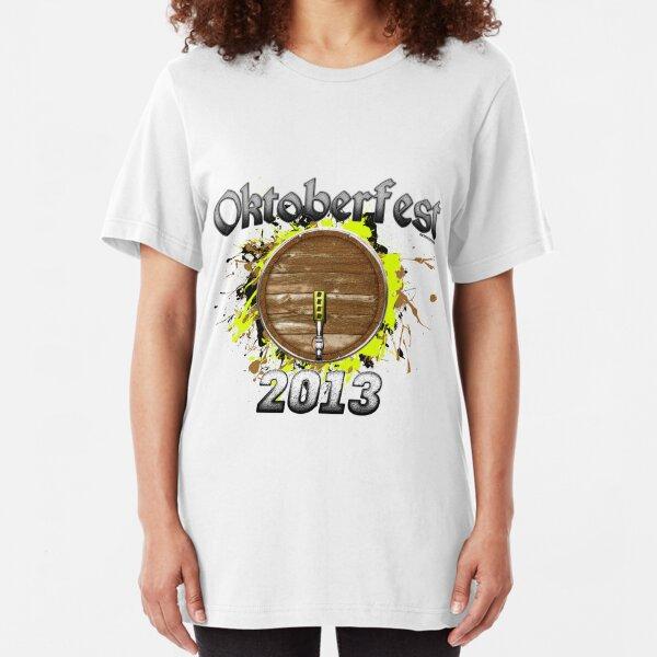 Oktoberfest Keg 2013 Slim Fit T-Shirt