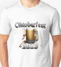 Oktoberfest Beer Mug 2013 Slim Fit T-Shirt