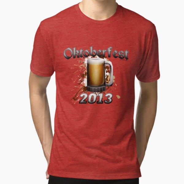 Oktoberfest Beer Mug 2013 Tri-blend T-Shirt