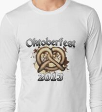 Oktoberfest Pretzel 2013 Long Sleeve T-Shirt