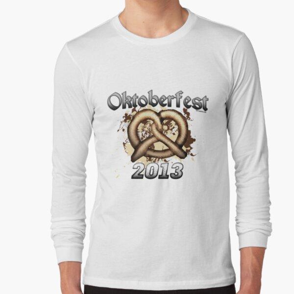 Oktoberfest Pretzel 2013 Long Sleeve T-Shirt