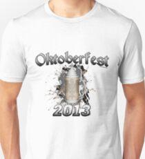 Oktoberfest Beer Stein 2013 Slim Fit T-Shirt