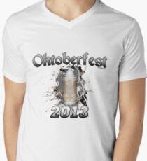Oktoberfest Beer Stein 2013 Men's V-Neck T-Shirt