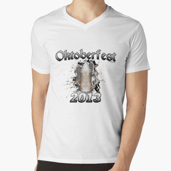 Oktoberfest Beer Stein 2013 V-Neck T-Shirt