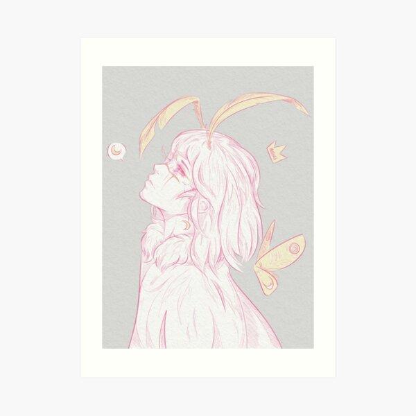 Mothra Gijinka  Art Print