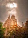 Heaven Shining Down on the Temple by RedskinzFan