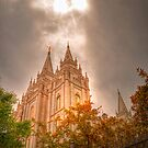 Heaven Shining Down on the Temple by RedskinzFan