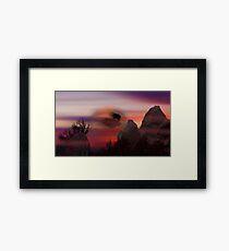 ©DigiArt Flying Framed Print