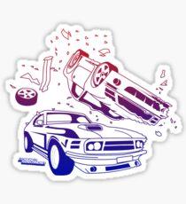 Crash Mode Sticker