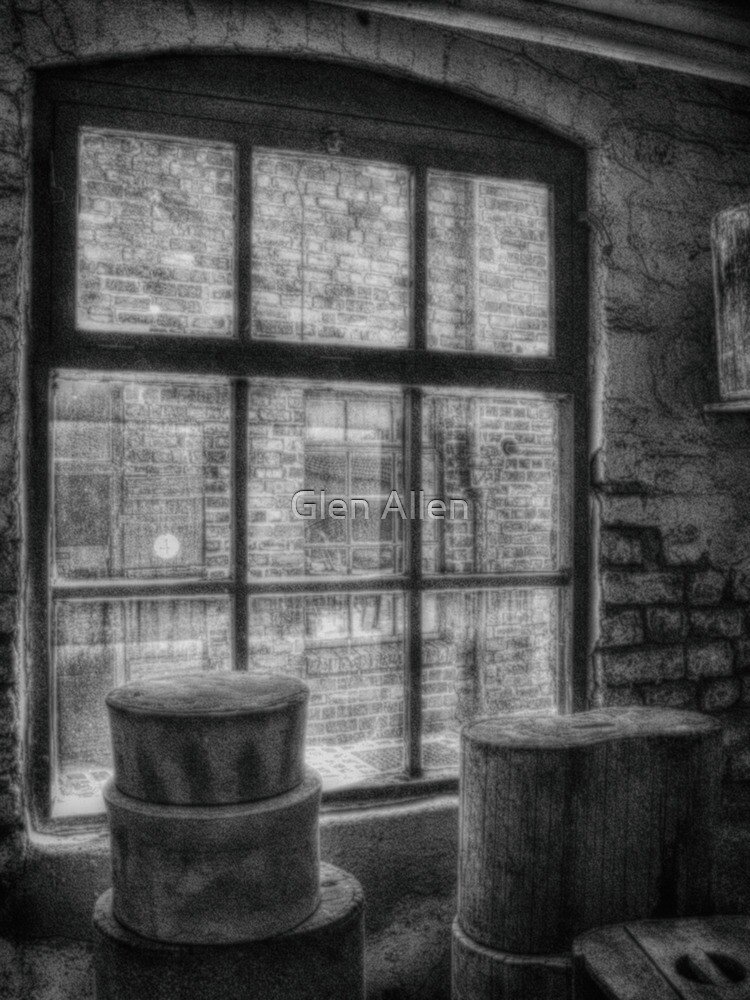 Window - mono by Glen Allen