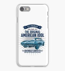 Chevrolet Corvette C2 Sting Ray 1966 iPhone Case/Skin