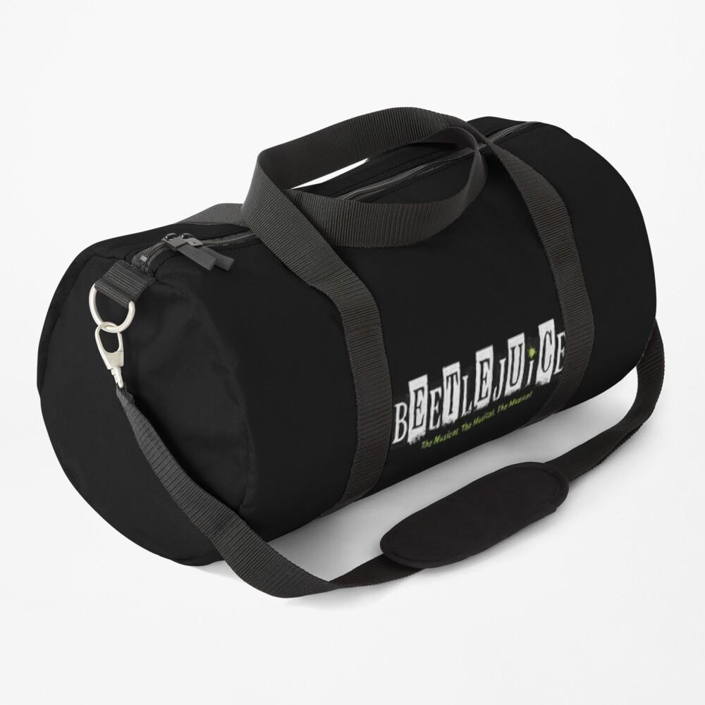 Beetlejuice The Musical, The Musical, The Musical black Duffle Bag