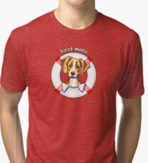 Brittany :: First Mate Tri-blend T-Shirt