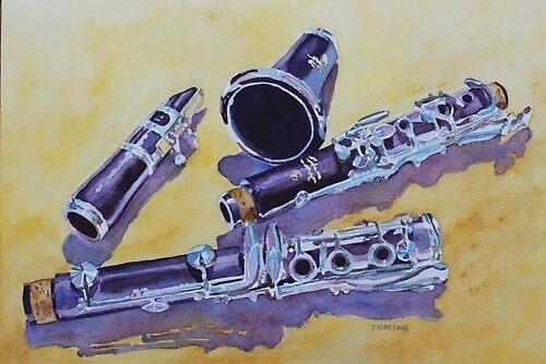 Clarinet Candy by JennyArmitage