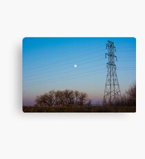 Electric Morning Canvas Print