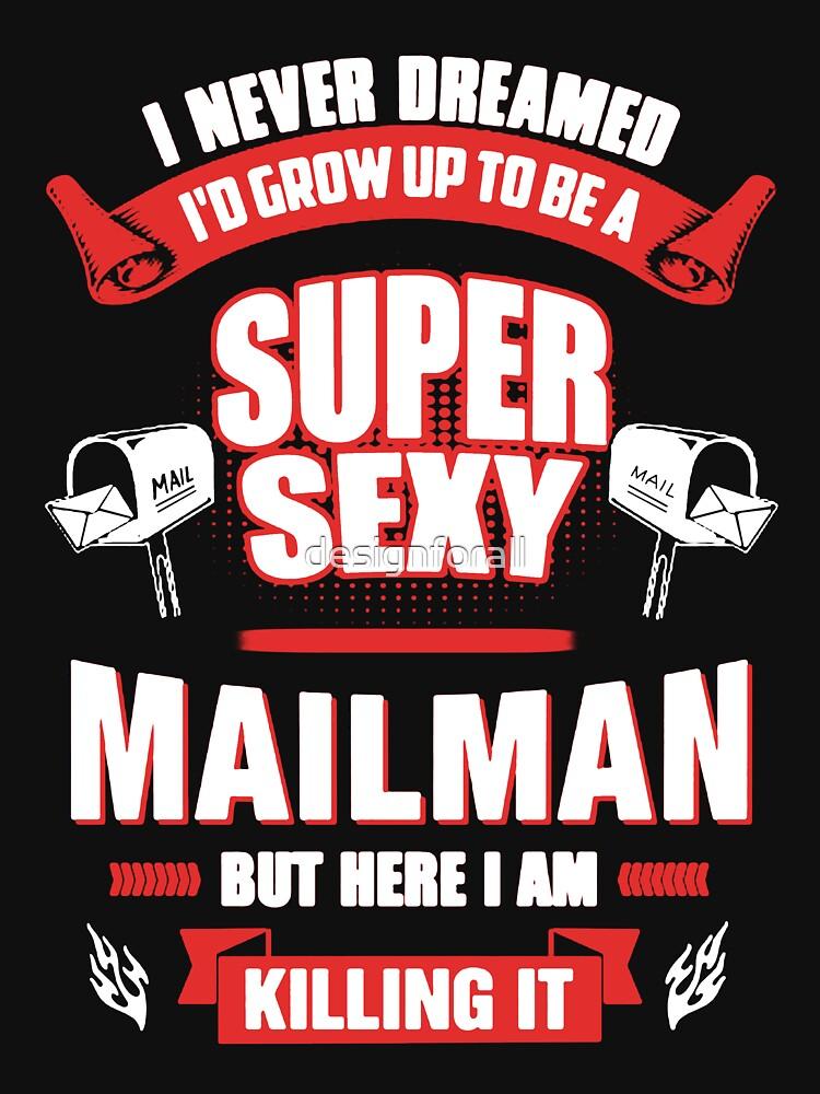 Mailman Super Sexy by designforall