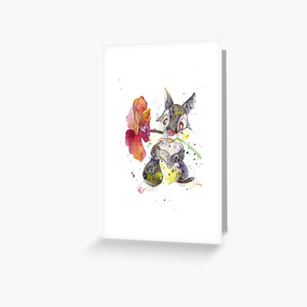 Thumper. Greeting Card