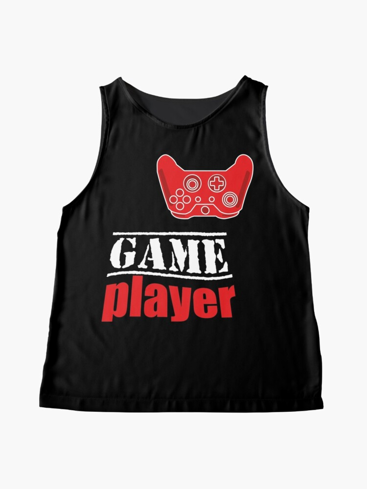 Alternate view of Game player Sleeveless Top