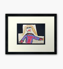 A Smart New Outfit Framed Print