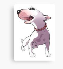 Bull terrier Canvas Print