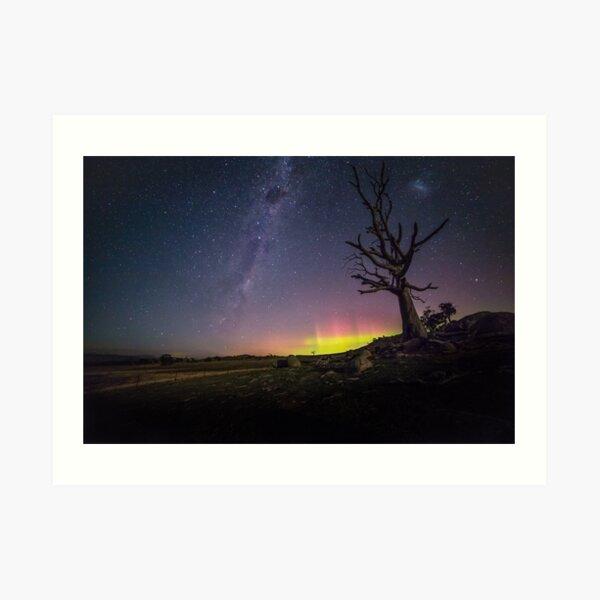 Aurora Australis Tooborac Art Print