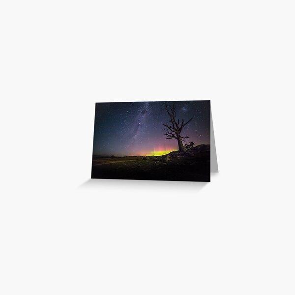 Aurora Australis Tooborac Greeting Card