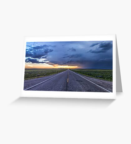 Highway to the Skyway Greeting Card