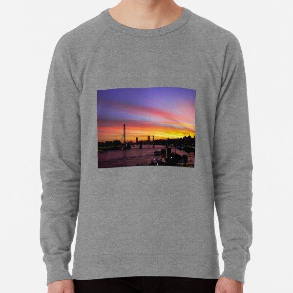 London at Sunset 2 Lightweight Sweatshirt