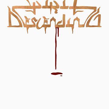 Spirit Descending Blood Shirt by thatnorskchick
