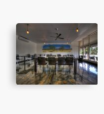 Royston Park Cafe Canvas Print