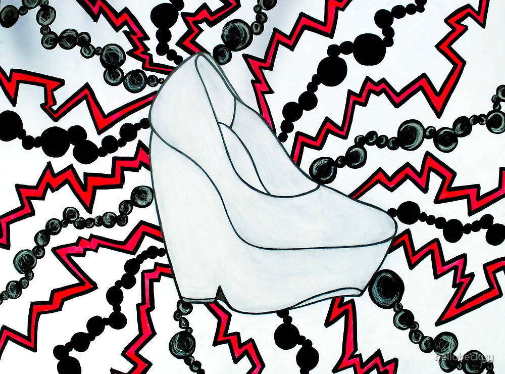 turn me on with your electric heel (2011) by hellobeckyy