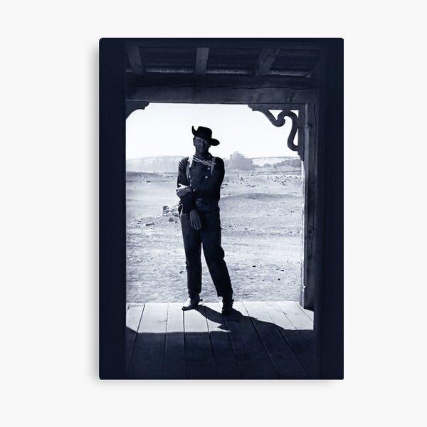 John Wayne in The Searchers Canvas Print