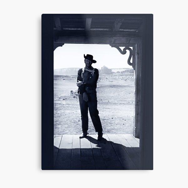 John Wayne in The Searchers Metal Print
