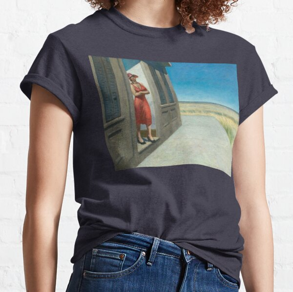 South Carolina Morning - Edward Hopper (1955) Classic T-Shirt