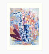 Saxophon Art Print