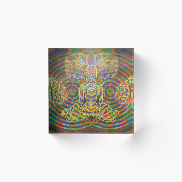 Wisdom Eyes digital - 2016 Acrylic Block