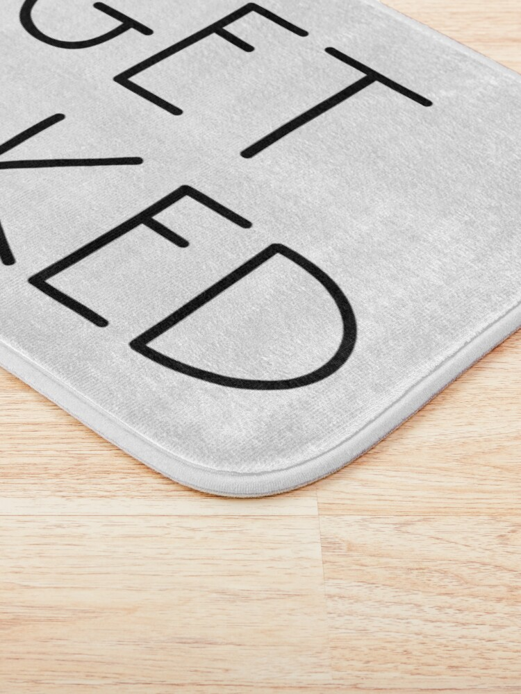 Alternate view of Get Naked White Bath Mat