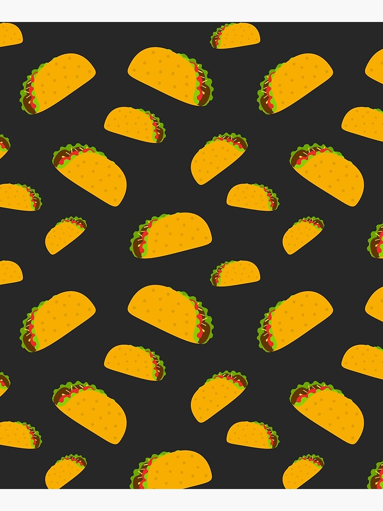 Cool and fun yummy taco pattern by PLdesign