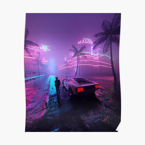 Malibu Nights Poster