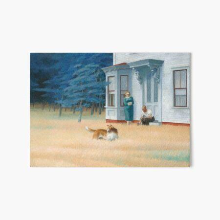 Edward Hopper. Cape Cod Evening, 1939. Art Board Print