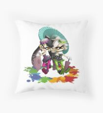 Splatoon | Squid Sisters Throw Pillow